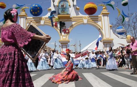 foto feria internacional de los pueblos